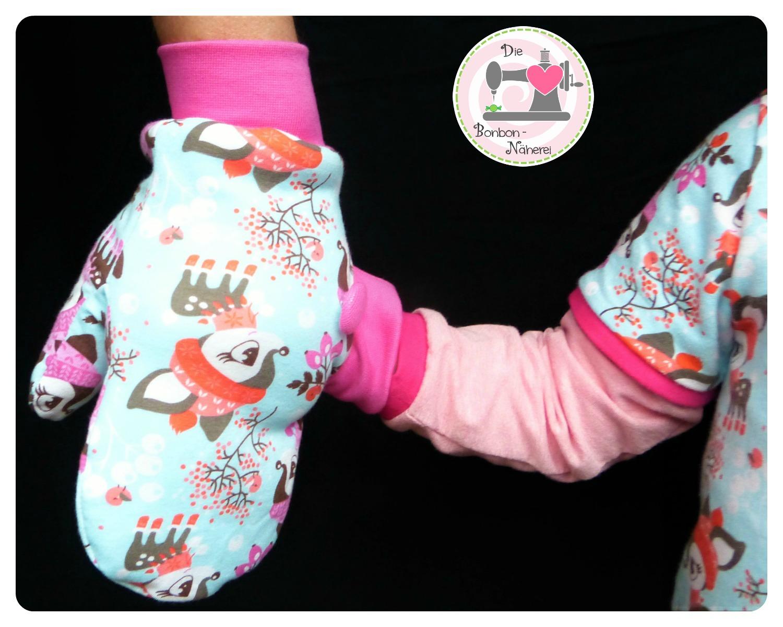 Mama-Kind-Handschuhe zum Händchenhalten | Die Bonbon-Näherei